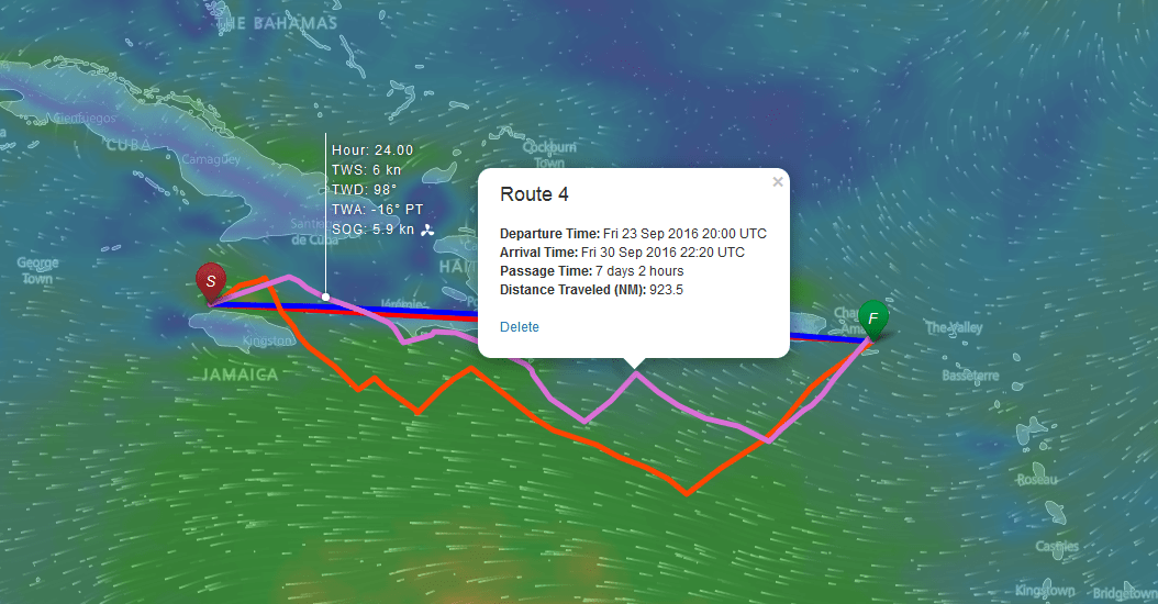 FastSeas | Weather Routing